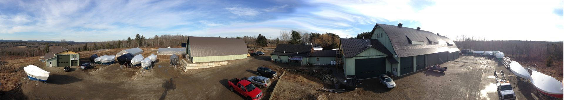Yard panoramic