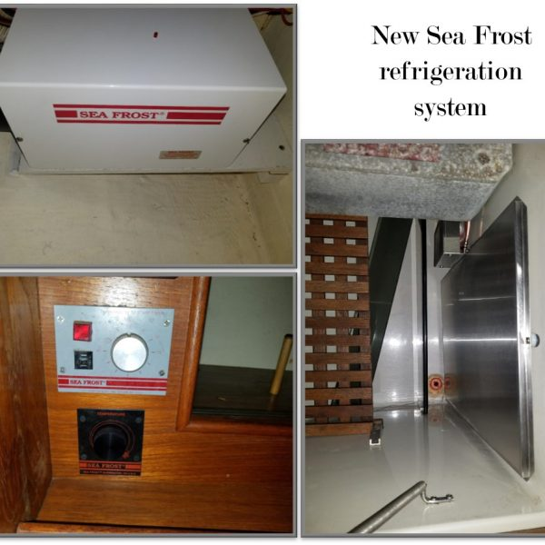 Nonsuch 30- 12 volt seafrost air-cooled refrigeration system