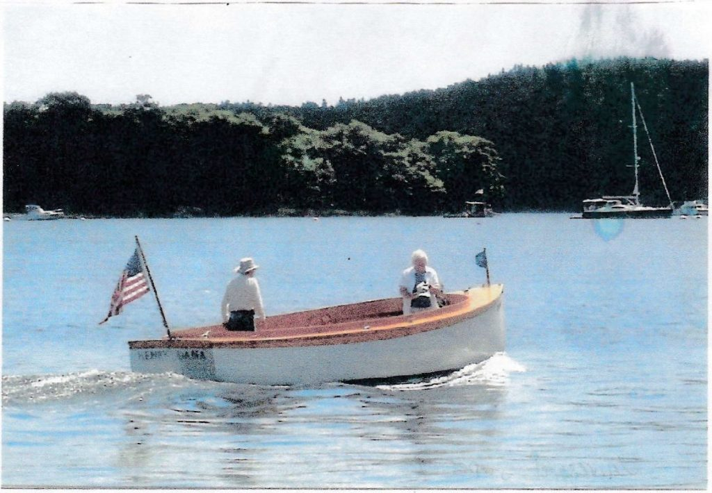 Jake & Joe Dennett Built Powerboat