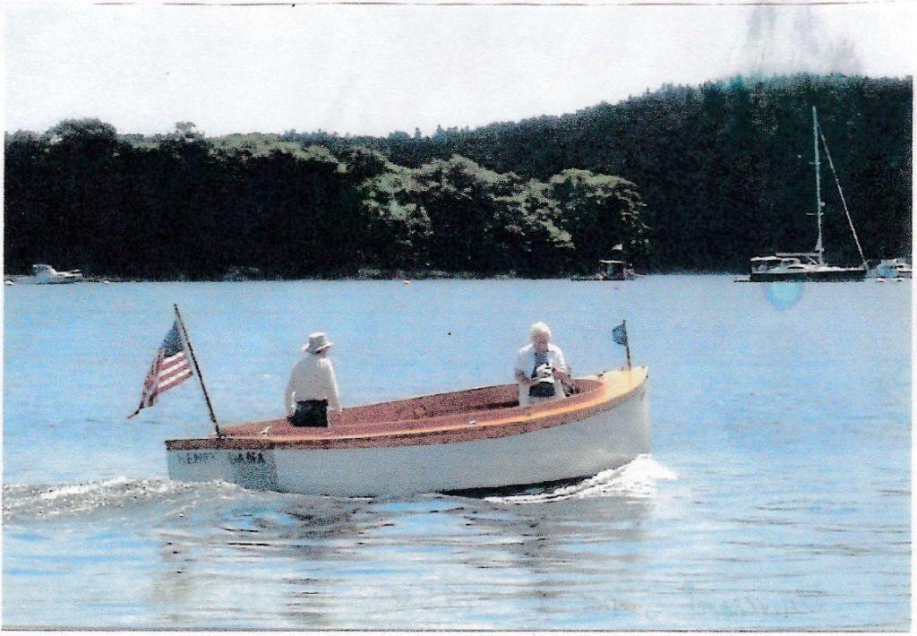Jake & Joe Dennett Built Powerboat